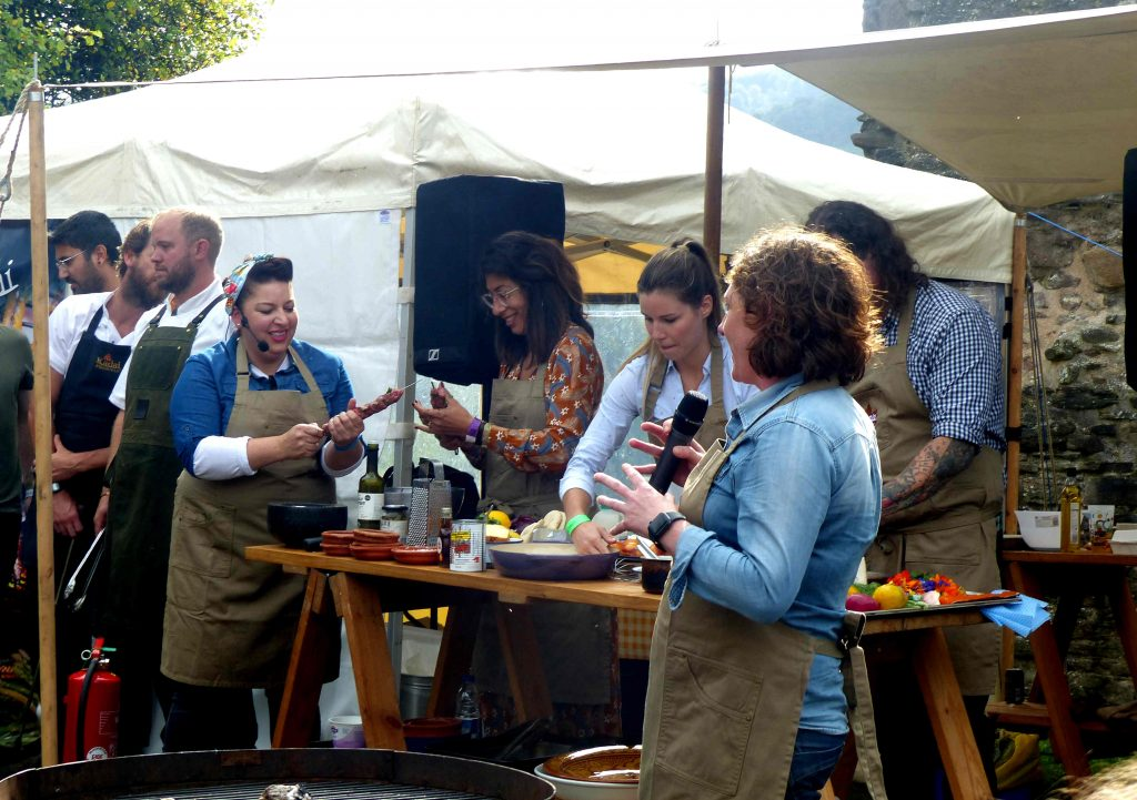 Hang Fire Abergavenny Food Festival