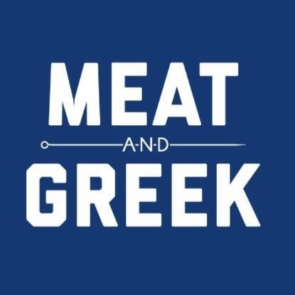 Meat and Greek Logo