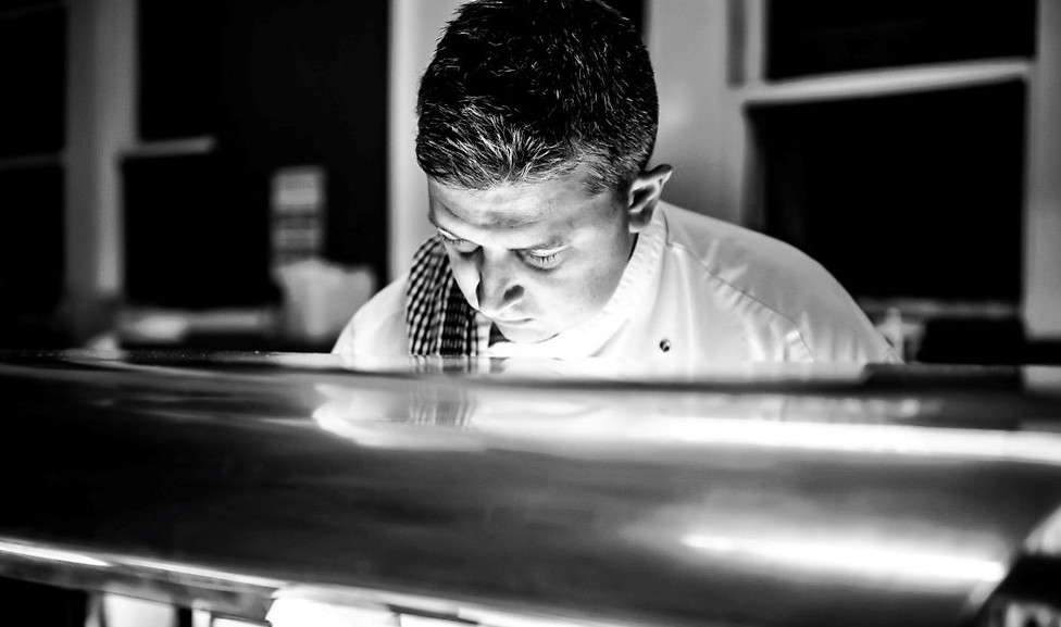 Chef John Cook Behind the Pass