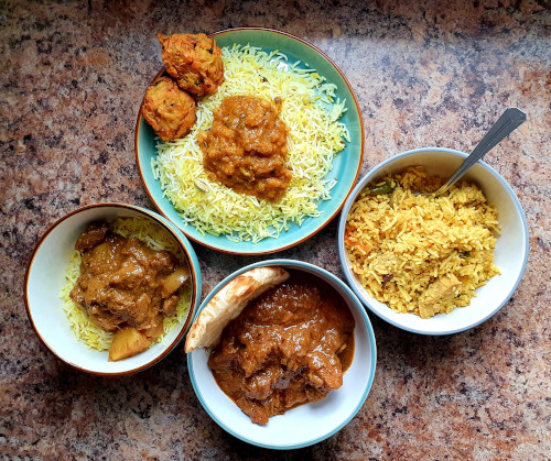 My Local Indian Dishes Curries