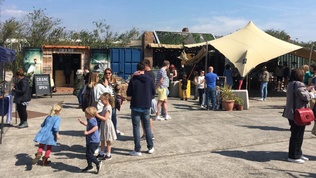 Fresh & Wild Farmer's Market at the Boneyard Canton