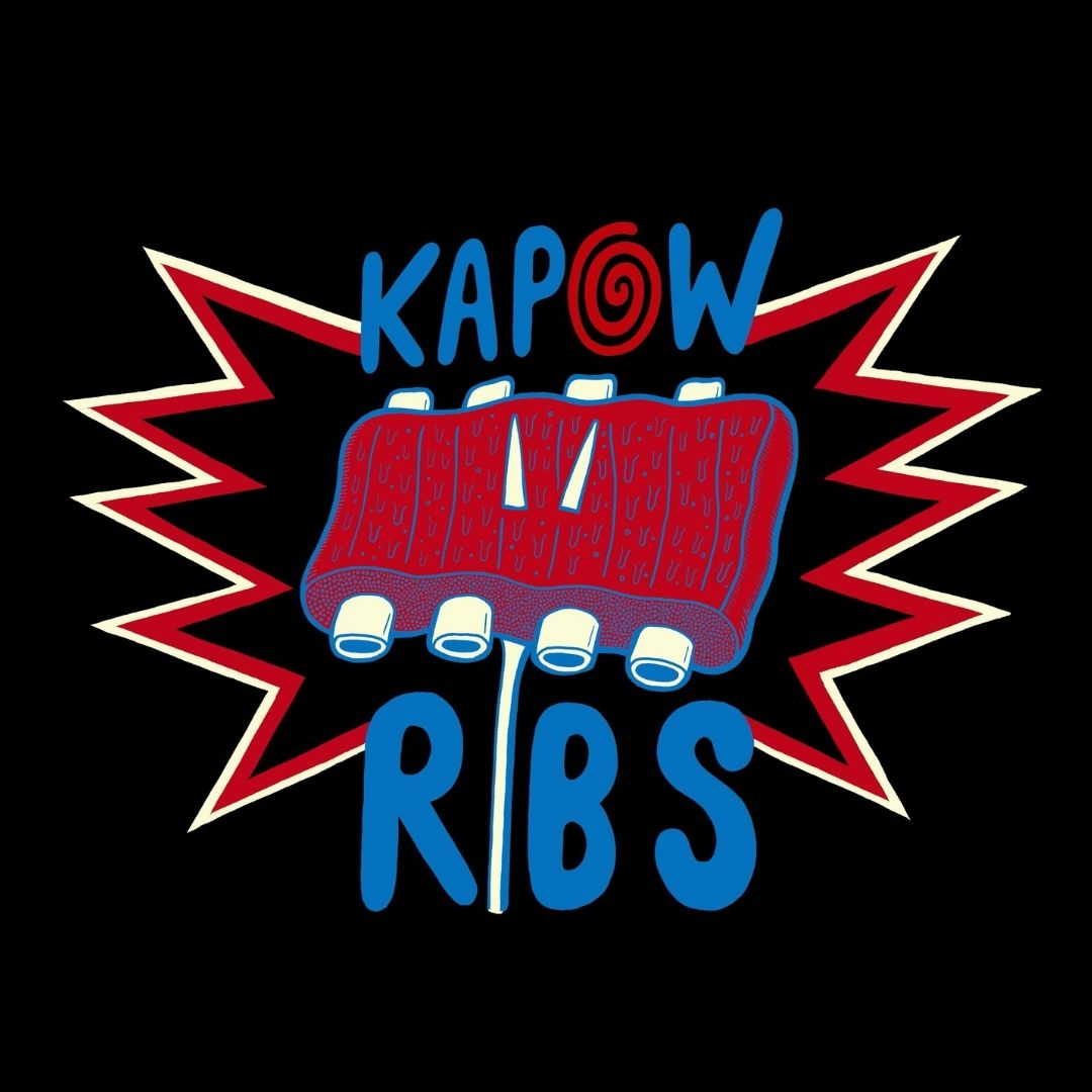 Kapow Ribs Logo