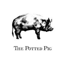The Potted Pig Logo