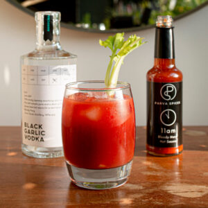 Bloody Mary with Garlic